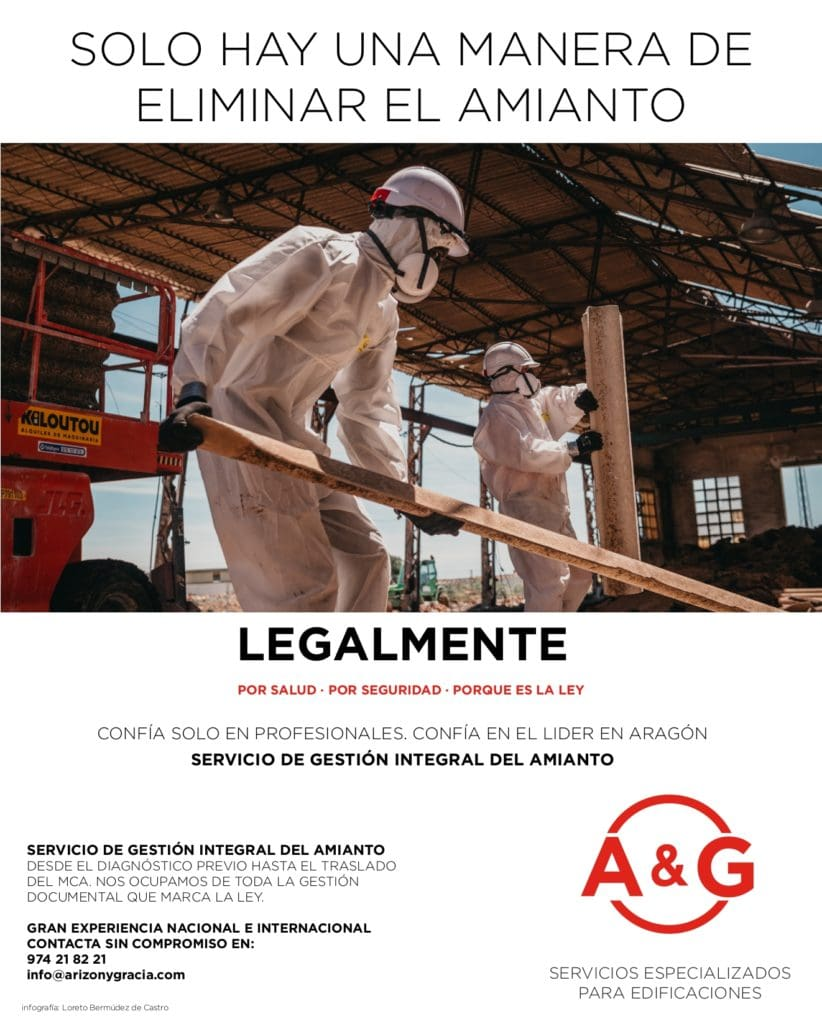 Servicio extracción amianto